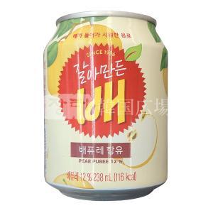 ヘテ すりおろし梨ジュース 238ml(缶)