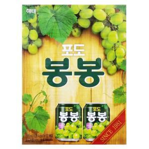 ヘテ ぶどうボンボンジュース 238ml BOX(12本入)