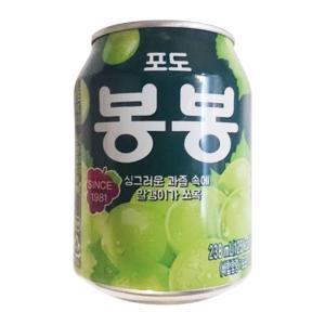 ヘテ ぶどうボンボンジュース 238ml(缶)