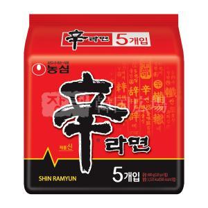 農心 辛ラーメン 120g マルチパック (5個入)|hiroba