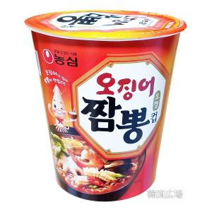 濃心 イカチャンポンカップ麺67gの商品画像|ナビ