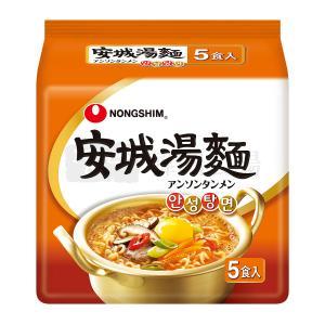 農心 安城湯麺 125g マルチパック (5個入)|hiroba