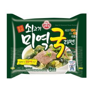 オットゥギ 牛肉わかめスープラーメン 115g マルチパック (4個入)|hiroba