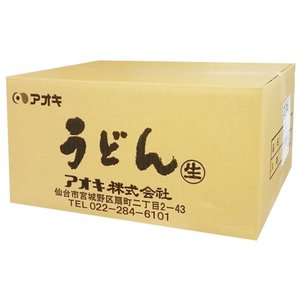 アオキ 生うどん 200g BOX(60個入)...