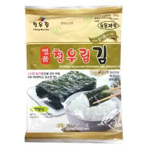 清友林 全形味付け韓国のり 5枚入 hiroba