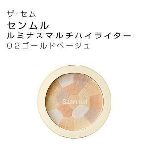 ザセム(The Saem) センムルルミナスマルチハイライター02 韓国コスメ|hiroba
