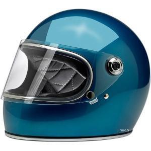 【USA在庫あり】 0101-11498 ビルトウェル Biltwell フルフェイスヘルメット Gringo-S 青(つや有り) XS HD店|hirochi2