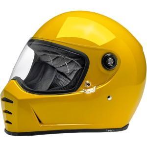 【USA在庫あり】 0101-11540 ビルトウェル Biltwell フルフェイスヘルメット Lane Splitter 黄(つや有り) XS HD店|hirochi2