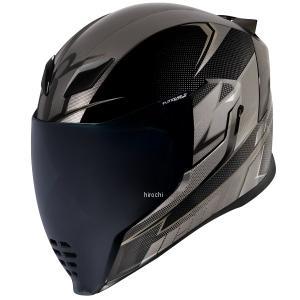 0101-13899 アイコン ICON フルフェイスヘルメット AIRFLITE ULTRABOLT 黒 Lサイズ HD店|hirochi2
