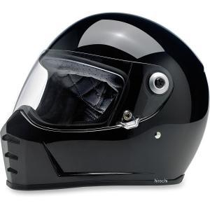 【USA在庫あり】 0101-9934 ビルトウェル Biltwell フルフェイスヘルメット Lane Splitter 黒(つや有り) SM HD店|hirochi2