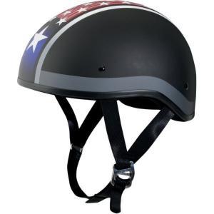 【USA在庫あり】 0103-0953 AFX ハーフヘルメット FX-200 スリック スター 黒(つや消し) Sサイズ (55cm-56cm) HD|hirochi2