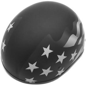 【USA在庫あり】 0103-1040 AFX ハーフヘルメット FX-200 スリック ステルス フラッグ XSサイズ (54cm-55cm) HD|hirochi2