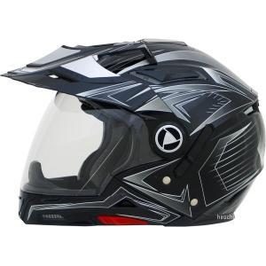 【USA在庫あり】 0104-1584 AFX システムヘルメット FX-55 マルチ 黒(つや有り) Lサイズ (60cm-61cm) HD|hirochi2