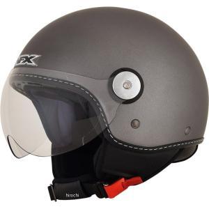 【USA在庫あり】 0106-0671 AFX ジェットヘルメット FX-33 灰 XXLサイズ (64cm-65cm) HD|hirochi2