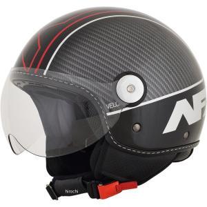 【USA在庫あり】 0106-0719 AFX ジェットヘルメット FX-33 黒/赤 XXLサイズ (64cm-65cm) HD|hirochi2