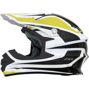 【USA在庫あり】 0110-4122 AFX ヘルメット FX-21 アルファ 黄/白 XXLサイズ (64cm-65cm) HD hirochi2
