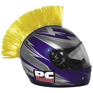 【USA在庫あり】 030173 PCレーシング PC Racing ヘルメット モーホーク 黄 HD|hirochi2