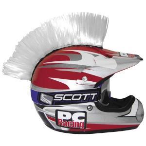 【USA在庫あり】 030174 PCレーシング PC Racing ヘルメット モーホーク 白 HD hirochi2