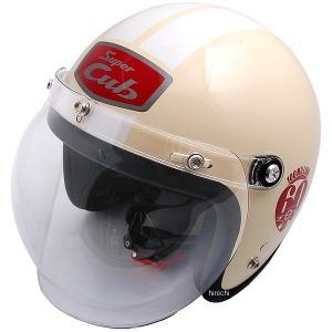 0SHGC-JC1A-Y-F ホンダ純正 ジェットヘルメット スーパーカブ1億台達成記念モデル アイボリー フリーサイズ HD店 hirochi2