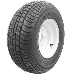【USA在庫あり】 205104C-1 ケンダ KENDA タイヤとホイール トレーラー用(1本セット) 205/65-10 4H 6PR-C HD|hirochi2