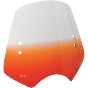 【USA在庫あり】 2313-0042 メンフィスシェード Memphis Shades ウインドシールド ハンドル取付金具付 シューター オレンジ HD|hirochi2