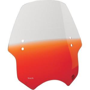 【USA在庫あり】 2313-0043 メンフィスシェード Memphis Shades ウインドシールド ハンドル取付金具付 ヘルキャット オレンジ HD|hirochi2