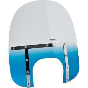 【USA在庫あり】 2313-0057 メンフィスシェード Memphis Shades 17インチ ファット ウインドシールド アレンネス ビッグ ヘッドライト用 青 HD|hirochi2