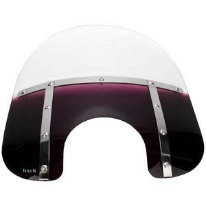 【USA在庫あり】 2313-0068 メンフィスシェード Memphis Shades ウインドシールド ファット 15インチ高/ライト幅7インチ 紫 HD店|hirochi2