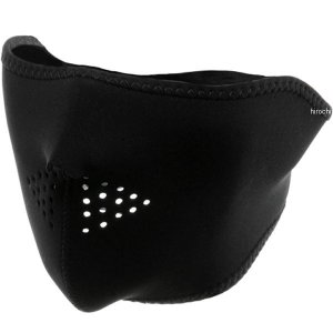 【USA在庫あり】 2503-0010 WNFM114H ザンヘッドギア ZAN Headgear ハーフフェイスマスク 黒 フリーサイズ|hirochi2