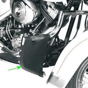 【USA在庫あり】 3550-0009 DRAG LINDBY エンジンガード用チャップス FXST、FLST スタッド|hirochi2
