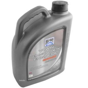 【USA在庫あり】 3601-0252 ベルレイ BEL-RAY 半化学合成 V-TWIN エンジンオイル 20W50 4リットル HD店|hirochi2