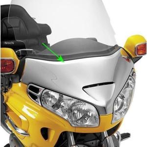 【USA在庫あり】 417375 52-641 ショークローム Show Chrome クローム ABS ウインドシールド ガーニッシュ 01年-12年 GL1800|hirochi2