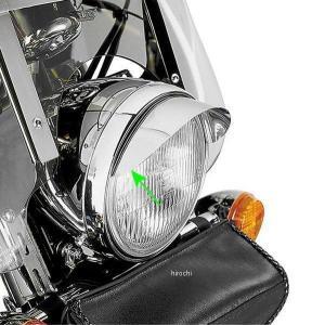 【USA在庫あり】 41-7529 53-429 ショークローム(SHOW CHROME) 7インチ ヘッドライト バイザー|hirochi2