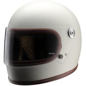 【メーカー在庫あり】 NH-R1 ニキトー NIKITOR フルフェイスヘルメット Retro-One オフホワイト Lサイズ HD店|hirochi2