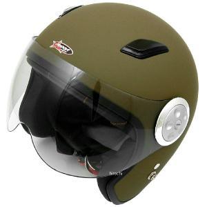 【メーカー在庫あり】 SPJ-9101S スプーン SPOON ヘルメット パイロット マットカーキ フリー (58cm-60cm)サイズ (ショートシールド) HD店|hirochi2