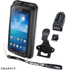 RAM-HOL-AQ7-2CU ラムマウント RAM Mounts スマートフォン防水ケース 汎用 iPhone5に対応 黒 HD店|hirochi2