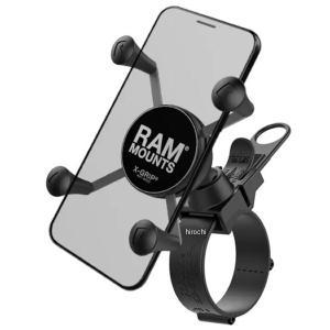 【メーカー在庫あり】 RAP-SB-187-UN7U ラムマウント RAM MOUNT Xグリップ自転車用セット スマートフォン用 テザー付 黒 HD店|hirochi2