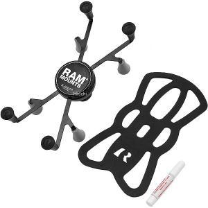 【メーカー在庫あり】 RAM-HOL-UN8BU ラムマウント RAM MOUNT Xグリップ iPad mini用 テザー付  黒 HD店|hirochi2