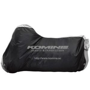 【メーカー在庫あり】 4560163752346 AK-100 コミネ KOMINE スポーツバイクカバー ブラック Mサイズ HD店|hirochi2