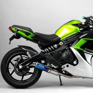 0-22-ZFT4411J サンセイレーシング SANSEI RACING フルエキゾースト ジニック ZNIC 14年以降 Ninja400 ステンレス/チタン HD店|hirochi2