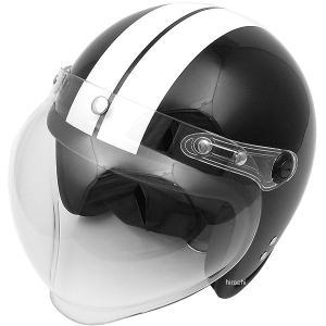 【メーカー在庫あり】 モトボワットBB Moto Boite 079122020 スモールジェットヘルメット 回転BBシールド付 黒/白 フリーサイズ(58-60cm未満)|hirochi2