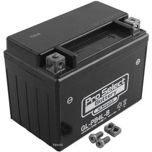 【メーカー在庫あり】 PSB120 プロセレクト PROSELECT バイク用 バッテリー ジェルタイプ GL-PB4L-B YB4L-B互換 (液入り充電済み) HD店|hirochi2