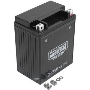 【メーカー在庫あり】 PSB133 プロセレクト PROSELECT バイク用 バッテリー ジェルタイプ GL-PB14L-A2 YB14L-A2互換 (液入り充電済み) HD店|hirochi2
