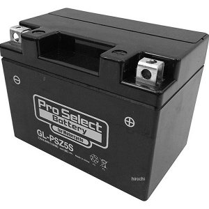 【メーカー在庫あり】 PSB172 プロセレクト PROSELECT バイク用 バッテリー ジェルタイプ GL-PSZ5S YTZ5S互換 (液入り充電済) HD店|hirochi2