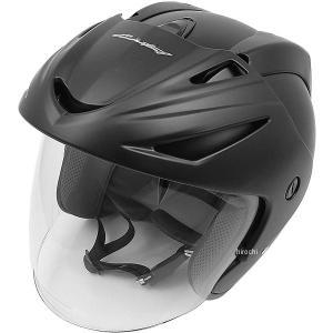 【メーカー在庫あり】 4984679511745 TNK工業 ジェットヘルメット AZ-7V ハーフマットブラック Lサイズ(58-60cm)|hirochi2