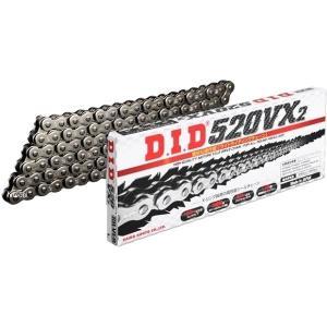 DID 520VX2-104L FJ(クリップ) 4525516356176 DID 大同工業 チェーン 520VX2 VXシリーズ スチール (104L) クリップ HD店|hirochi2