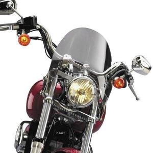 【USA在庫あり】 558114 N21734 ナショナルサイクル National Cycle ウインドシールド スイッチブレード ショーティ 06年-15年 FXDWG ライトグレー|hirochi2