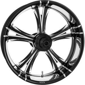 【USA在庫あり】 678366 エクストリームマシン リアホイール 18インチx3.5インチ フィアス 黒 Xquisite 08年 ツーリング ABS付き HD hirochi2