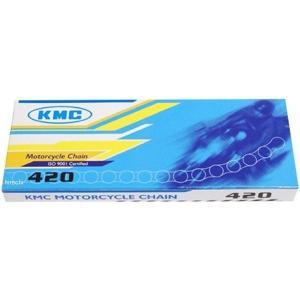 【メーカー在庫あり】 9110 KMC チェーン 420 (100L) クリップ HD店|hirochi2