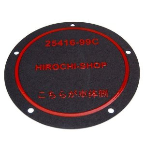 【即納】 CT-KH005-AA 25416-99C ヒロチー商事 ハーレー ダービー カバー ガスケット 99年-06年 Twin Cam HD店|hirochi2